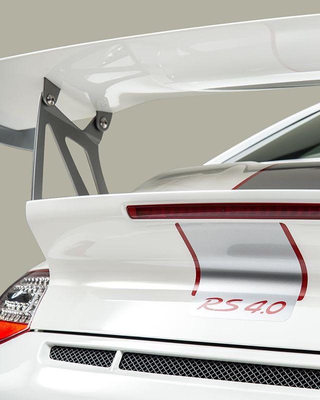 """You're gonna need a bigger wing""- 4.0 liter flat six. #porsche #gt3rs #4.0 #stuttgart #trackcar #downforce #rwd #savethemanuals #997"