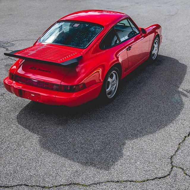 When American Porsche customers get their way. 1993 Porsche 911 Carrera RS America.