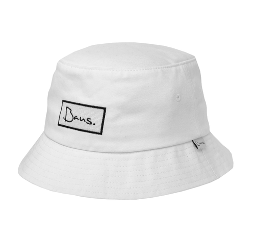 7545691f White Bucket Hat (Deep)