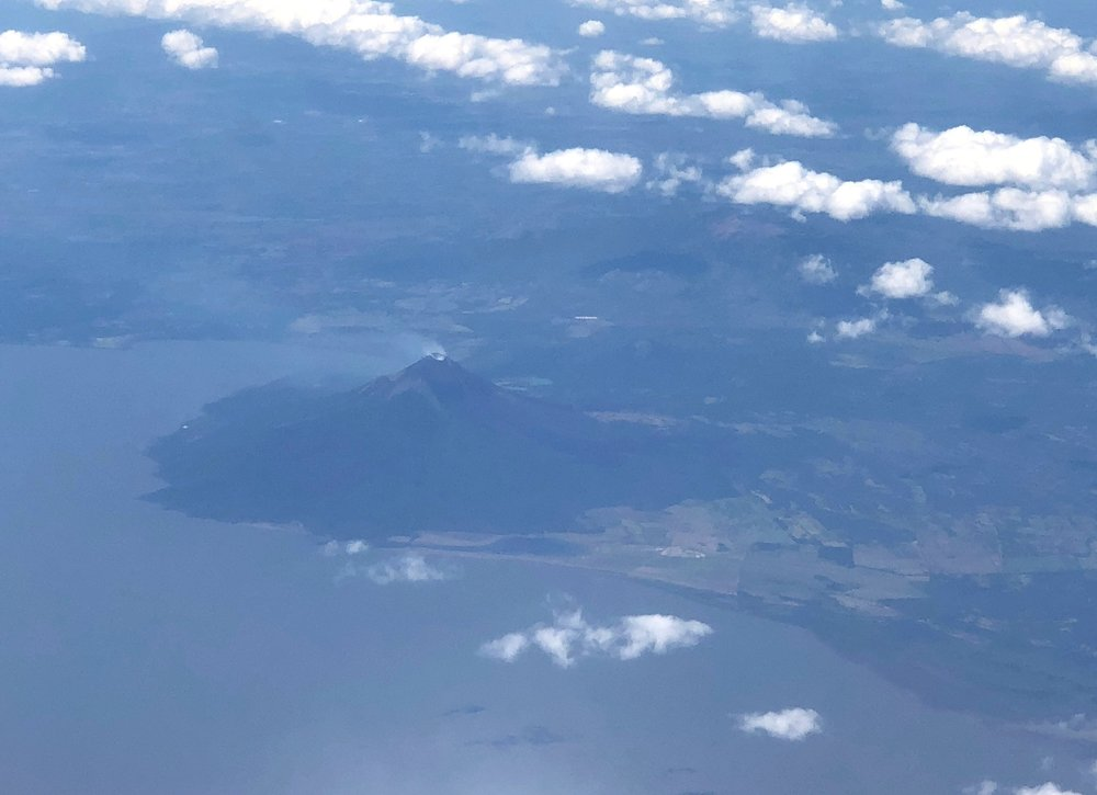 Arenal from above