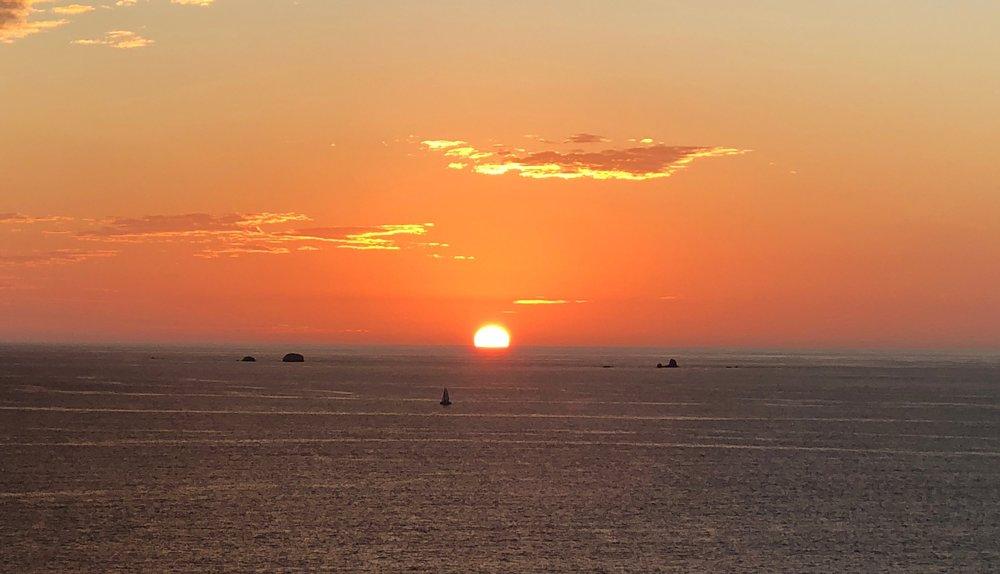 Las Catalinas Sunset