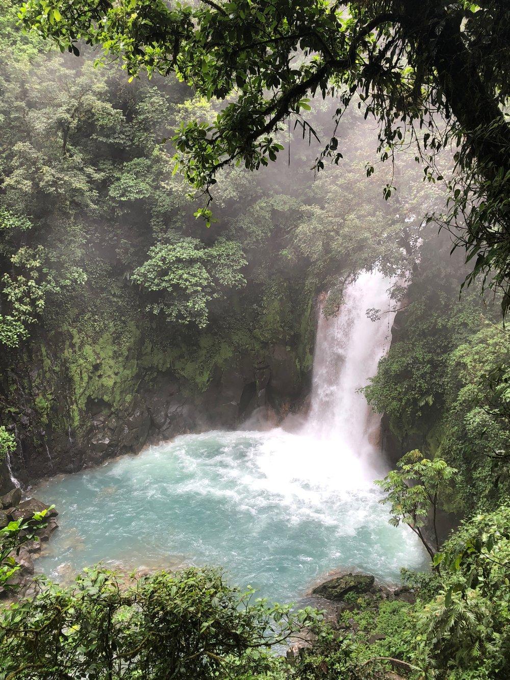 Rio Celeste at Parque Nacional Volcán Tenorio