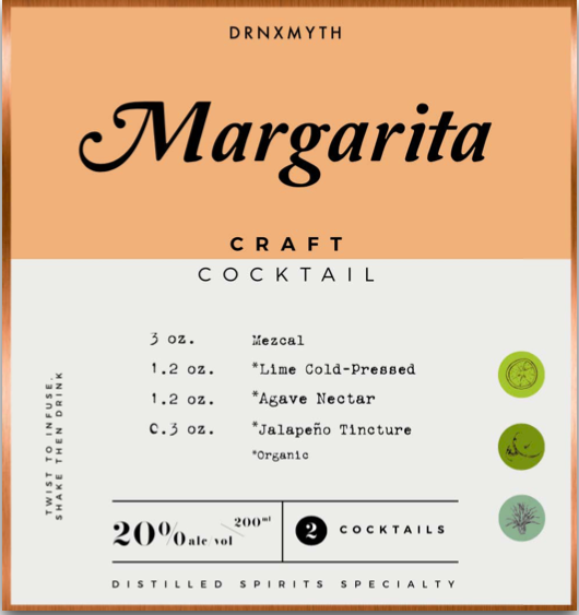 Develop an intriguing cocktail that features your brand's product front and center.