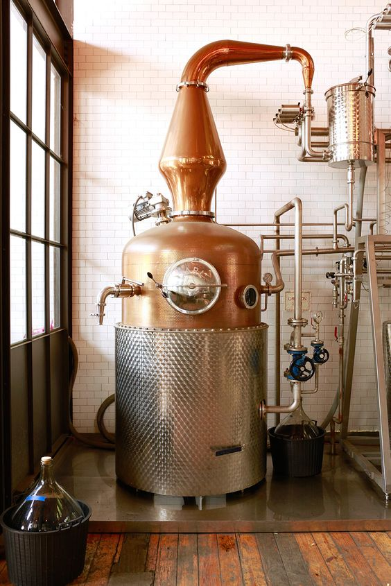 Widow Jane Distillery's pot still