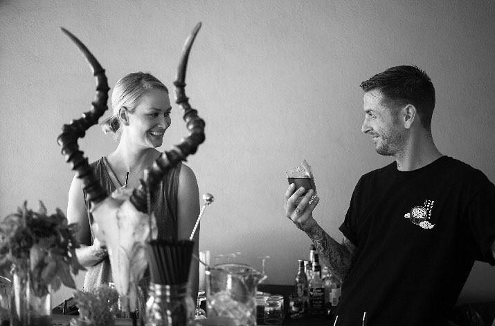 Sean & Sarah    @calicraftcocktails   Skills: Events Production, Themed Menu Design