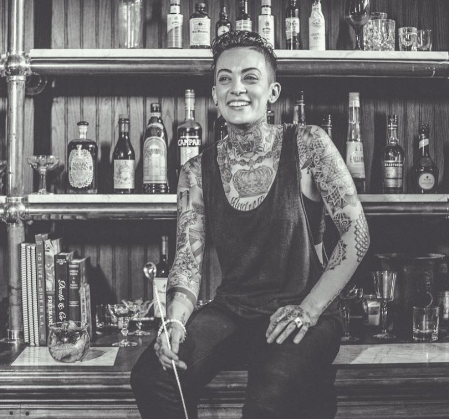Amanda Colom - @bad_birdy➤ Los Angeles, CABeginning her career in 2014, Amanda a.k.a Bad Birdycan definitely be described as an entertainer. Her passion for the craft is felt in every recipe she creates, and she is quickly gaining popularity amongst some of great bartenders that inspire her the most.