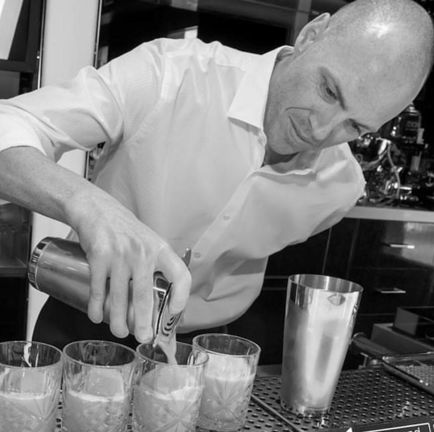 Dan Keaveney    @lasvegas.bartender   Skills: bar beverage development, cocktail development (non-bar), social media influencer, social media marketing, content creation