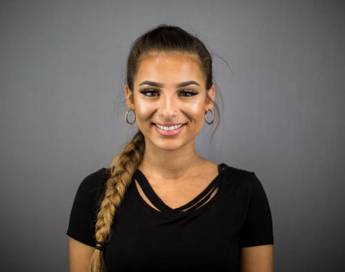 SHANAYA OAKES Apprentice Core members of the team, our apprentices as well as learning to become future hairdressers, help the salon run smoothly with the best cappuccinos and indulgent head massages.