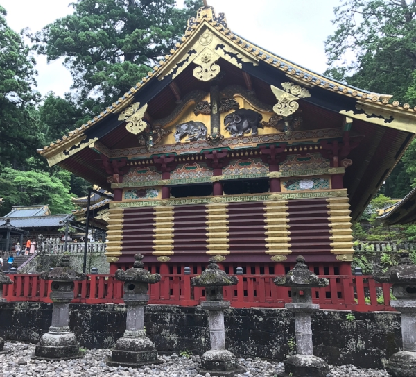 From the village of shrines and temples in Nikko, Japan