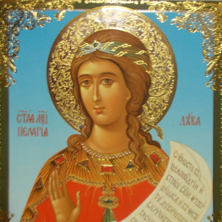 October 8: The Life of Our Holy Mother Pelagia the Nun, Who Was Once a Harlot -