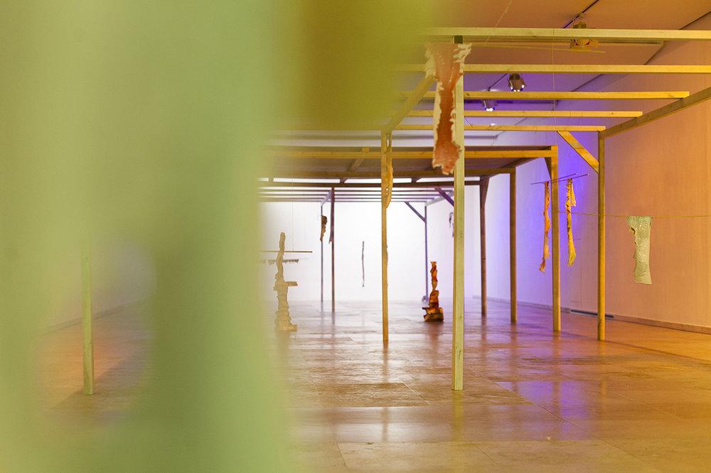 2018 installation view at Patio Herreriano Museum Valladolid ES photo Ricardo Suárez