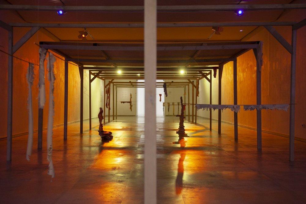 2018 installation view at Patio Herreriano Museum Valladolid ES photo Victor Hugo Martín Caballero