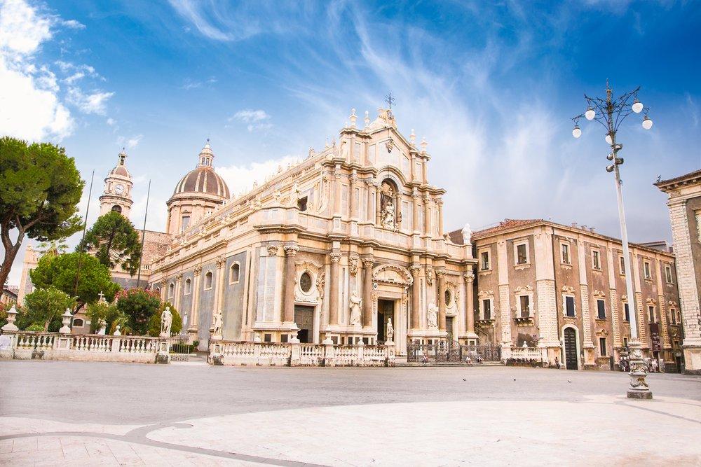 Piazza del Duomo in Catania