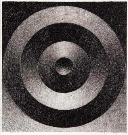 "JANUS 11   charcoal on paper  30"" x 29"""