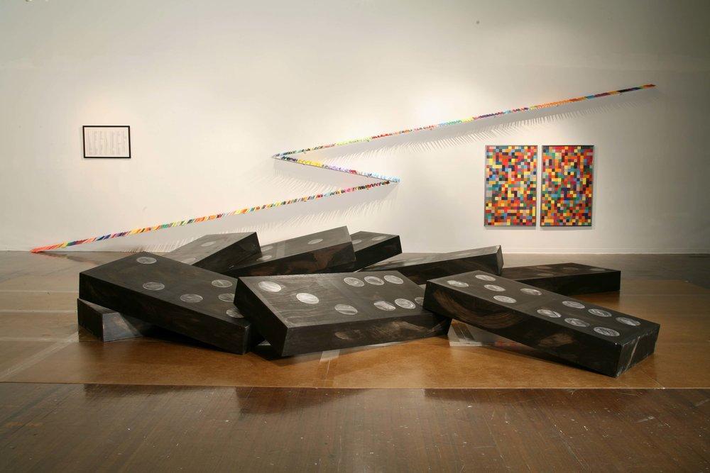 Doyle Gertjejansen Domino Theory,2006 Delgado Fine Arts Gallery, New Orleans, LA