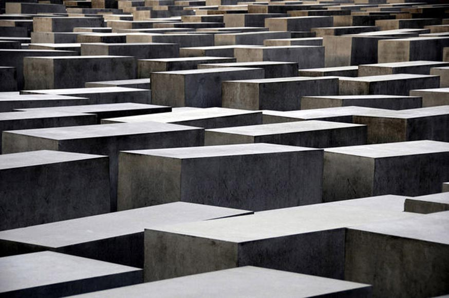 Memorial to the murdered Jews in Europe Berlin designed by Peter Eisenman 2005 photo by Gorrriti