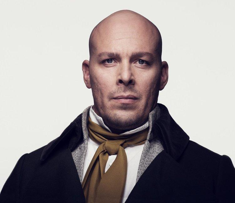 """Nominert til """"Best Actor in a Musical""""   André Søfteland for sin rolle som Jean Valjean i Les Misérables"""