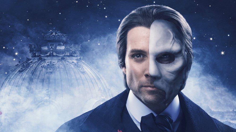 """Nominert til """"Best Actor in a Musical""""   Espen Grjotheim for sin rolle som Operafantomet i The Phantom of the Opera"""