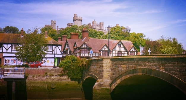 Peaceful Arundel:The pretty Sussex town beat Ibiza to be named the best location in Europe for a mindful mini break