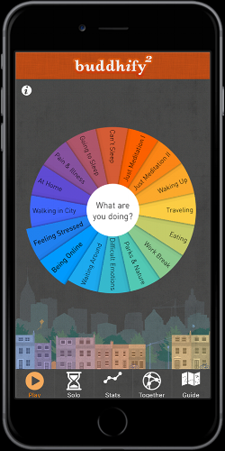 The game-changing Buddhify app for meditation on the move