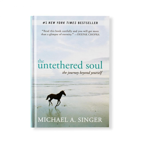 The Untethered Soul: One of my early morning reads. Enlightenment here I come...
