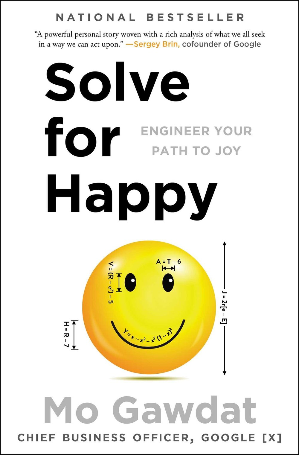 APRIL: Solve for Happy by Mo Gawdat