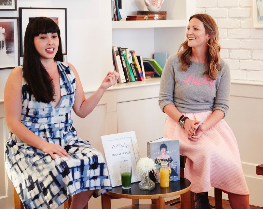 Melissa Hemsley was the star of the latest Shelf Help:SOHO HOUSE event in High Road House