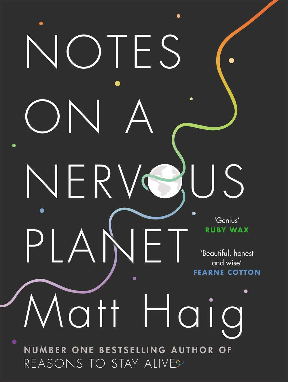 """NOVEMBER 2018 - NOTES ON A NERVOUS PLANET   """"What if the way we live was engineered to make us unhappy? And what if there was something we could do about it?"""""""
