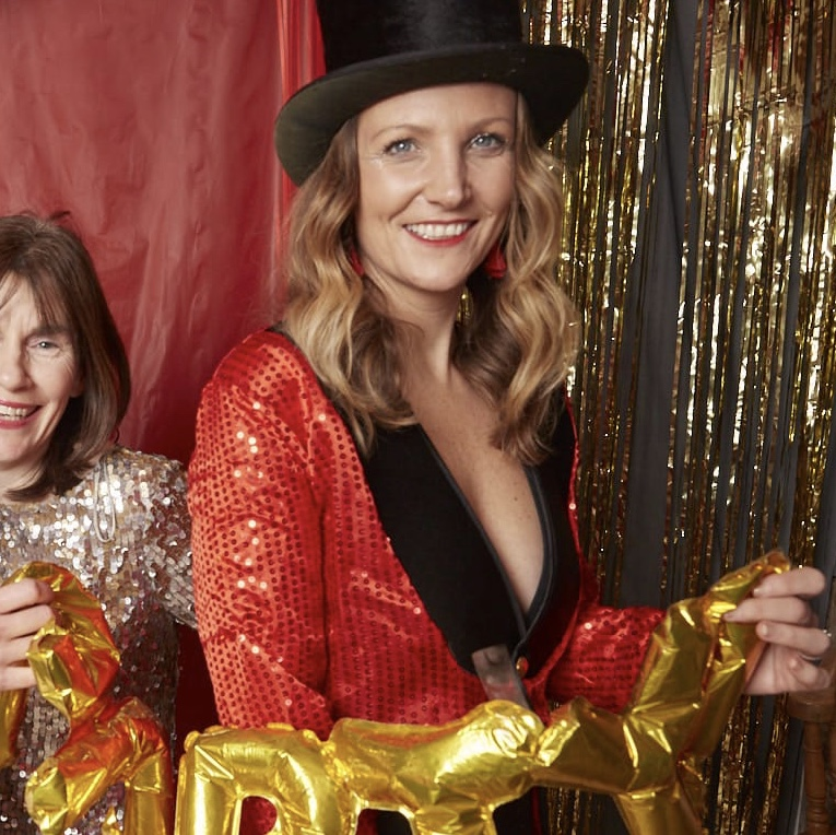 Swapping sparkling booze for a shimmering fancy dress outfit at New Year's Eve