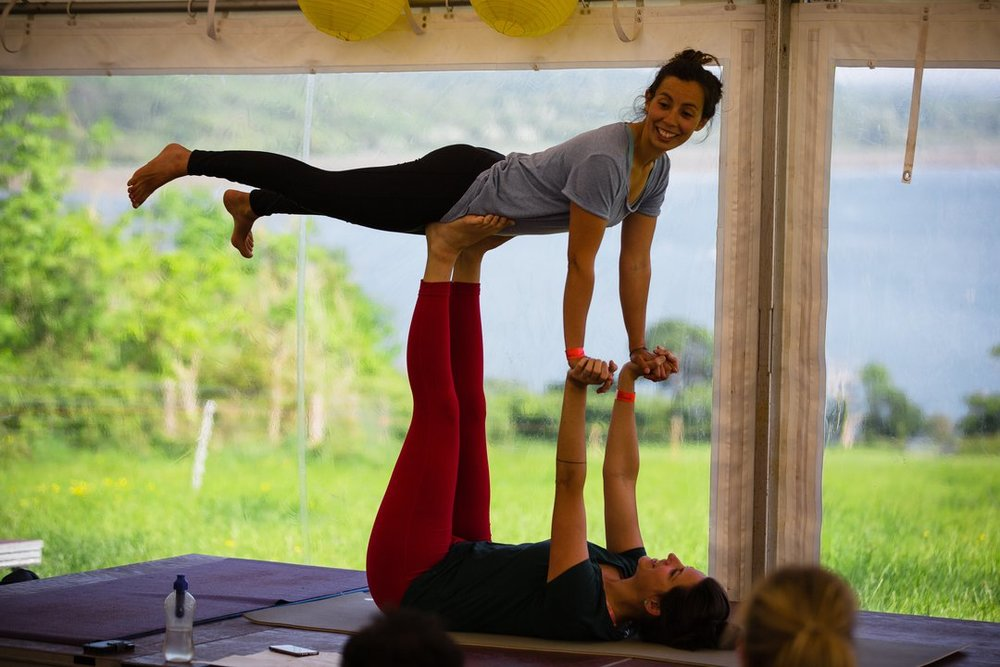 Try something new: Yoga with a view