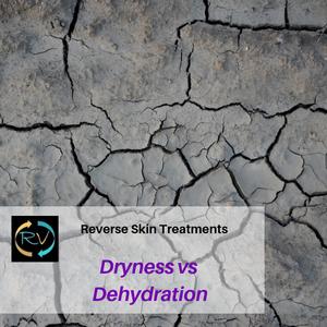 dry skin-dehydrated skin