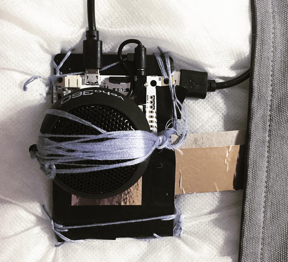 Embedded Touch Board, Speaker, Battery