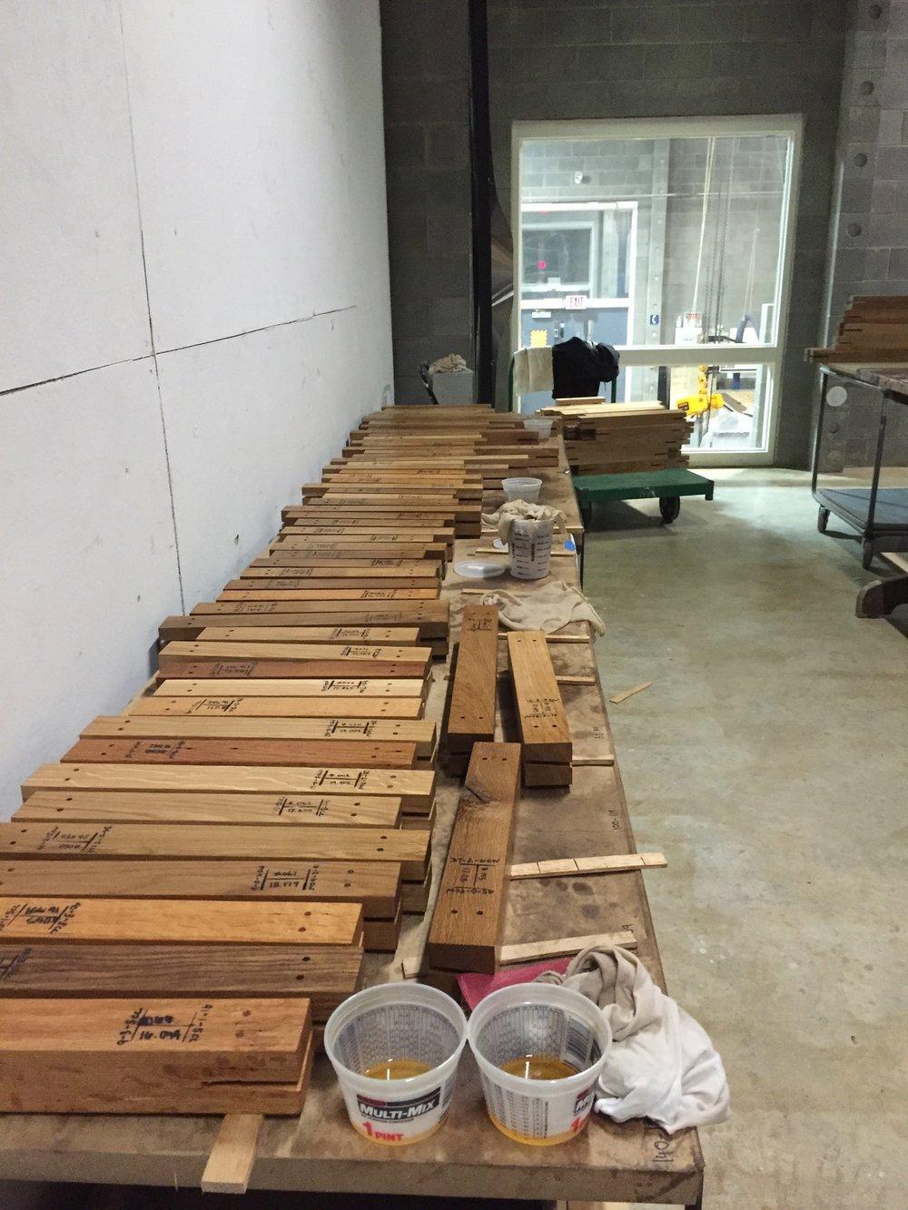 Wooden members