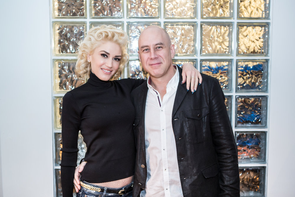 Steve with Gwen Stefani (Winter 2016)