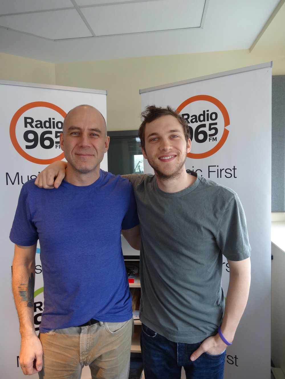 Steve with Phillip Phillips (Fall 2013)