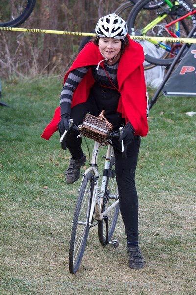 Annie as Little Red Riding Hood