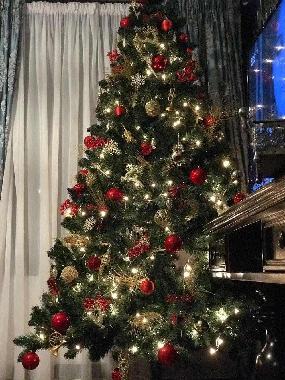 christmas deco fashionable interior design