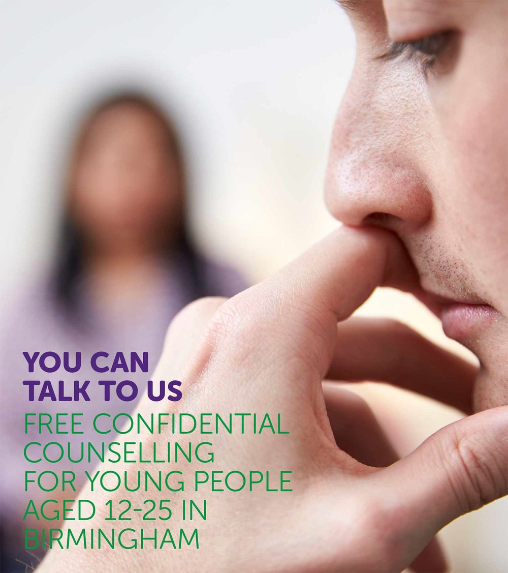 Download our leaflet on counselling for young people.