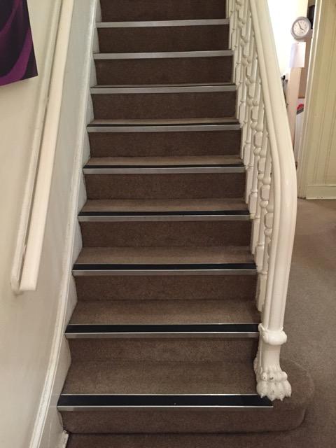 Stairs inside Open Door counselling Birmingham.jpg