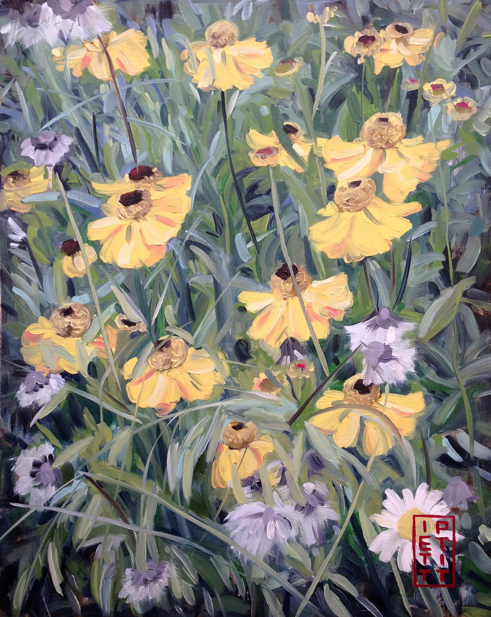 Wildflowers (Oil 30 X 38)