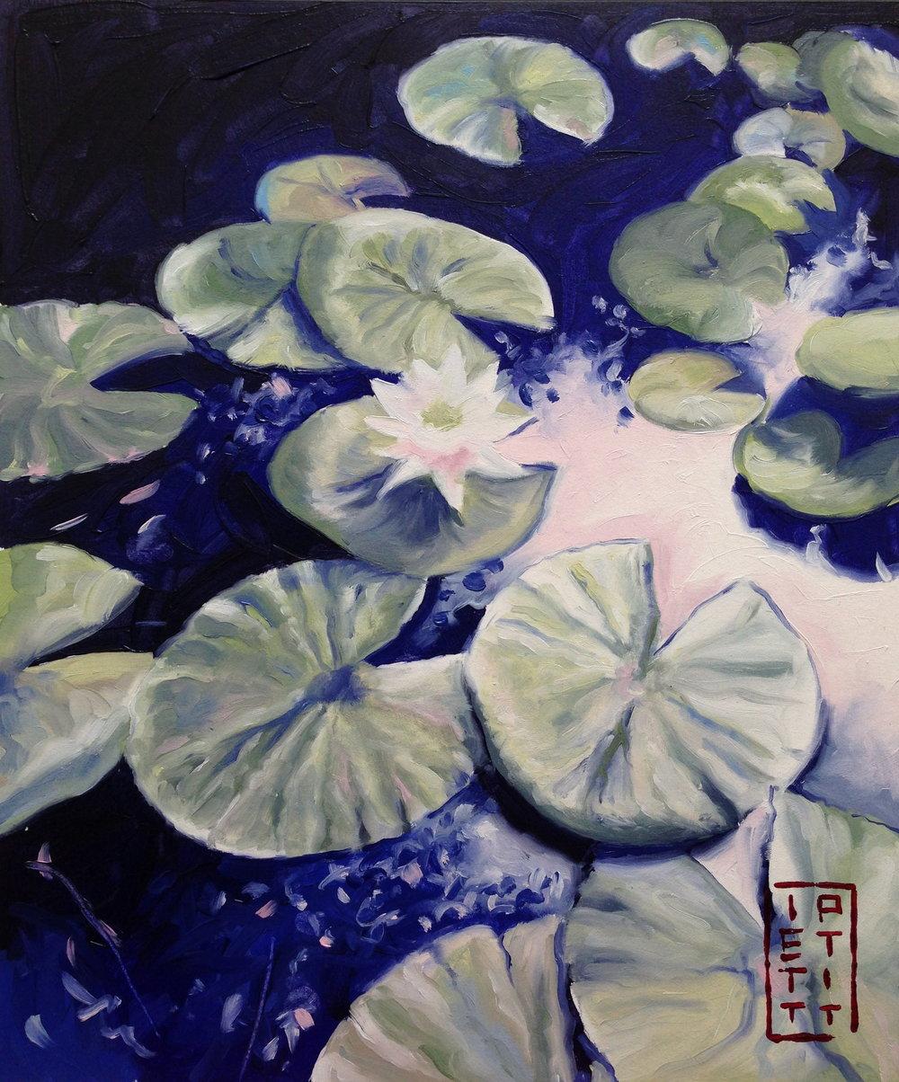 Pixie's Pond (Oil 10 X 12 inch).jpg