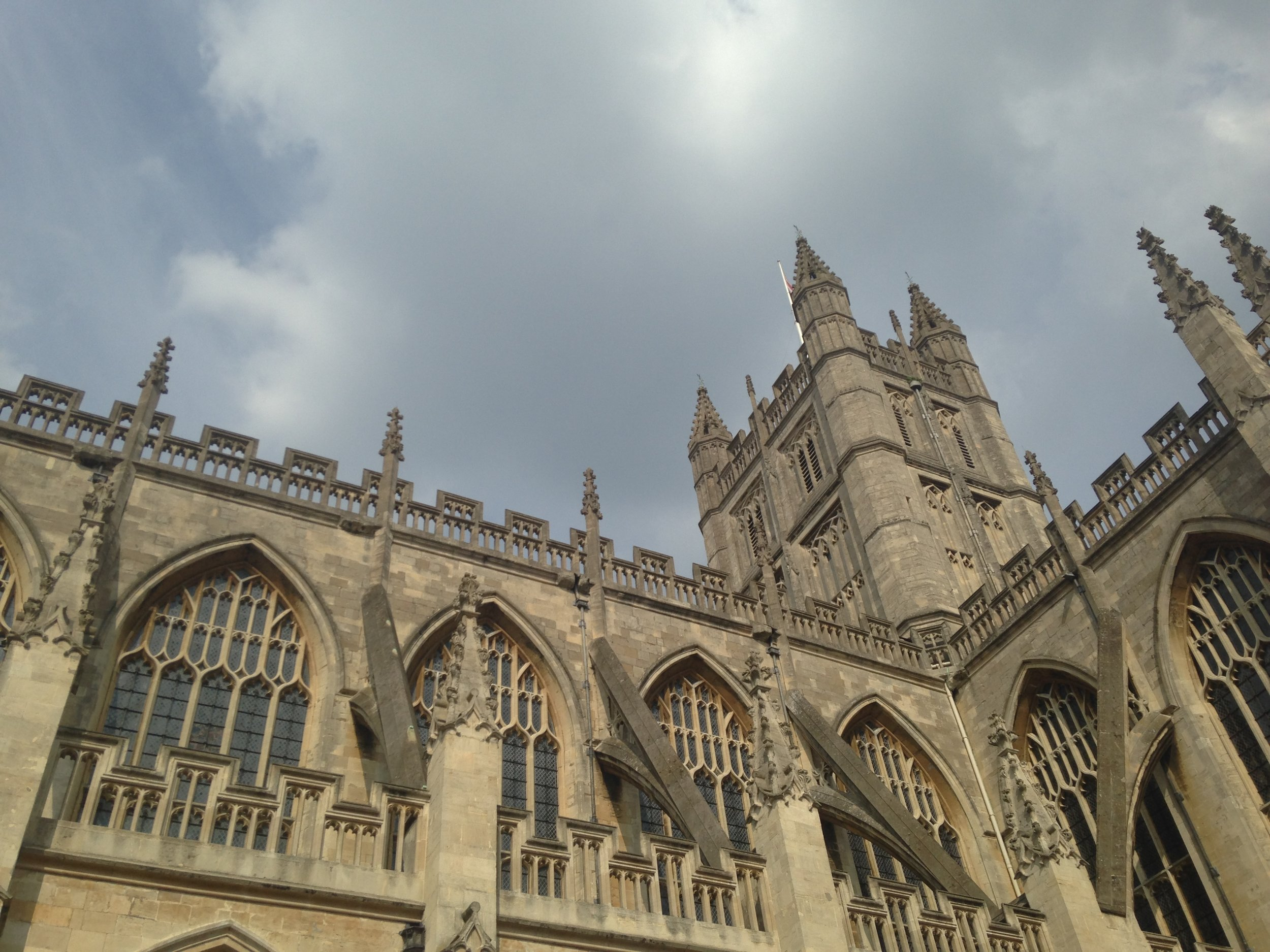Bath Abbey!