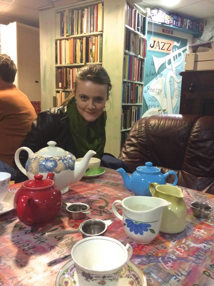 Presiding over teapots
