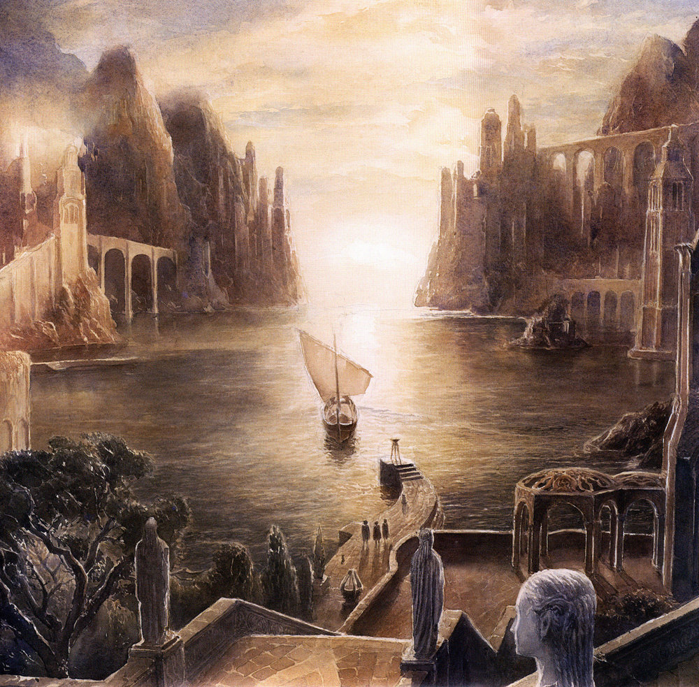 The Grey Havens, by Alan Lee