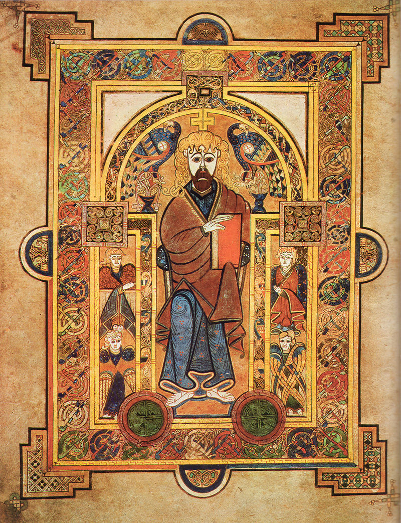 Christ Enthroned, 9th Century.