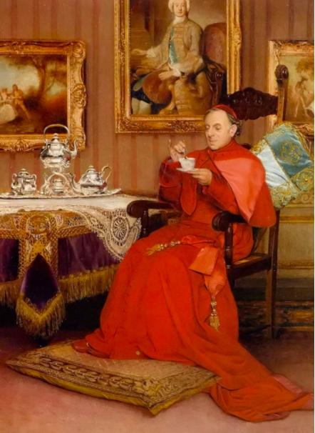 Tea Time by Georges Croegaert
