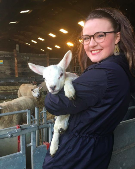 In the middle of my crazy week editing my Phd chapter, I got to go to my friend's farm cottage. We held baby lambs. It was perfect.