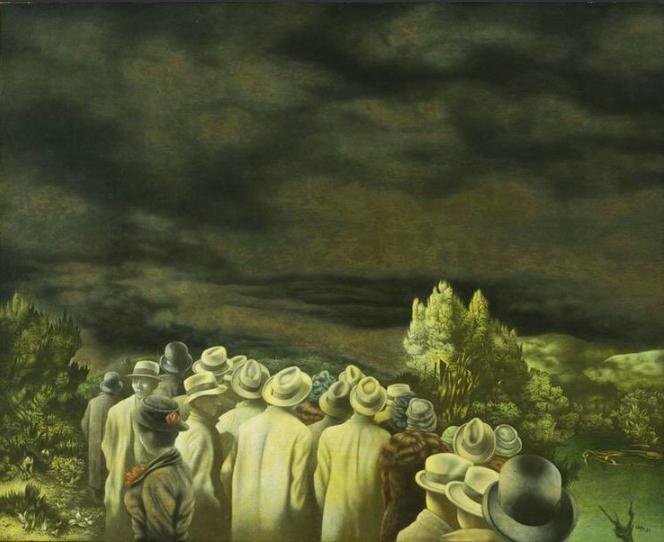 """Richard Oelze, """"the Expectation,"""" 1936, MOMA"""