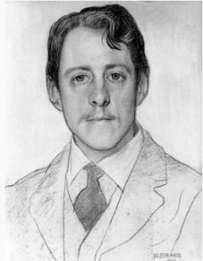 Laurence Binyon (1869-1943), Poet, Dramatist, and Scholar.