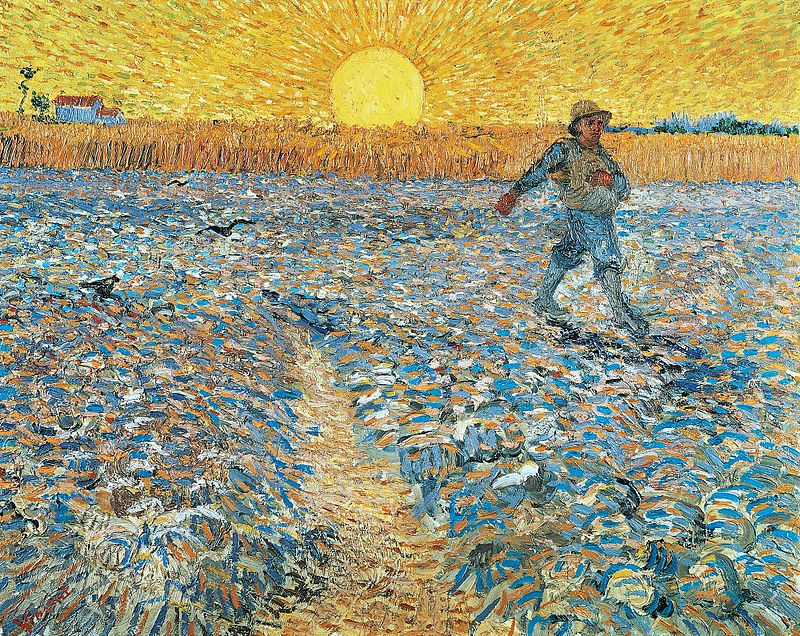 The Sower, after Milley 1888.
